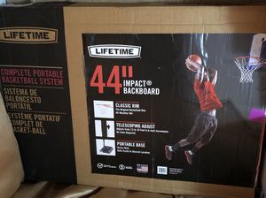 44inch Brand New Out Door Basketball Hoop for Sale in Queens, NY
