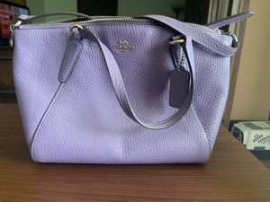 Coach Small Lavender Kelsey Bag - Used for Sale in Peoria, IL