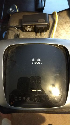 Linksys E2000 Router for Sale in Durham, NC