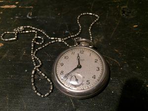 Westclox scotty pocket watch working great. for Sale in Hayward, CA