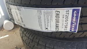 """Trailer tires Goodyear 15"""" for Sale in Austin, TX"""