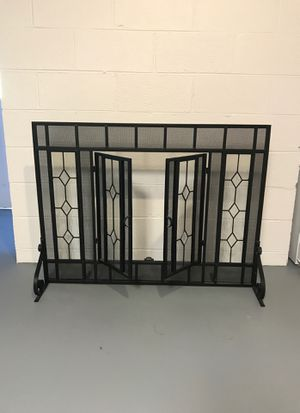 Fireplace screen with doors for Sale in Bremo Bluff, VA