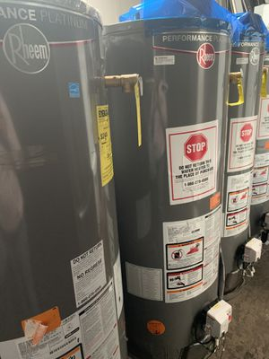 New Rheem Gas Water Heater -With installation for Sale in Chula Vista, CA