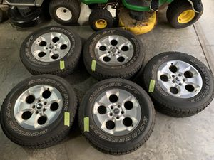 Jeep Wrangler JK wheels and tires for Sale in Gotha, FL