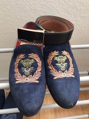 Gucci men shoes 8.5 ~ 9 Size for Sale in Glendale, CA
