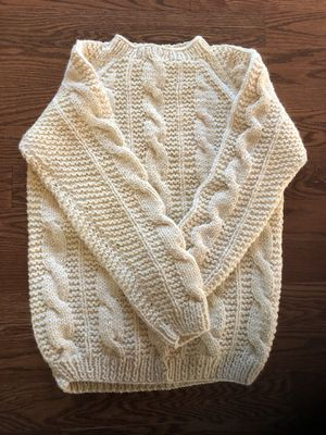 Vintage Cable Knit Sweater for Sale in Centreville, VA