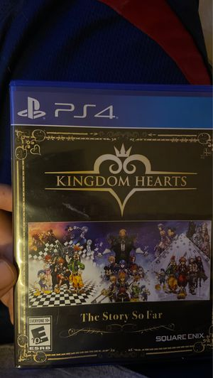 Kingdom hearts collection Ps4 for Sale in Las Vegas, NV