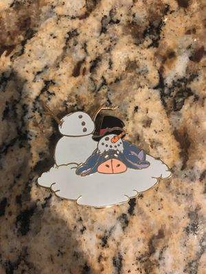 Disney Pin Eeyore Snowman LE Disney Auctions Pooh and Friends Winter Christmas | #1926424507 for Sale in Phoenix, AZ