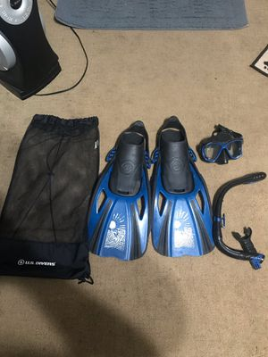 Great condition freediving snorkeling gear for Sale in El Monte, CA