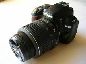 Nikon D3100 DSLR with 18-55mm and 55-200mm lenses for Sale in San Antonio, TX