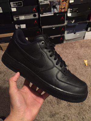 Nike Air Force 1s Black for Sale in Glendale, AZ