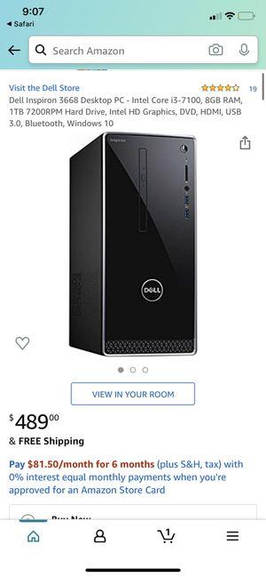 Dell 3668 for Sale in Las Vegas, NV