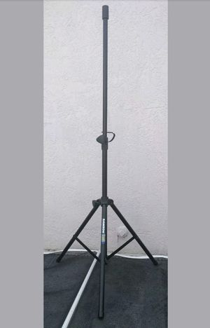 SAMSON TELESCOPING TRIPOD SPEAKER STAND- BLACK for Sale in Westfield, NY