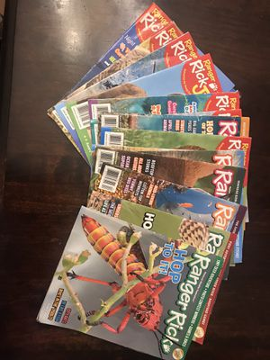 FREE-Ranger Rick magazines for Sale in Beaverton, OR