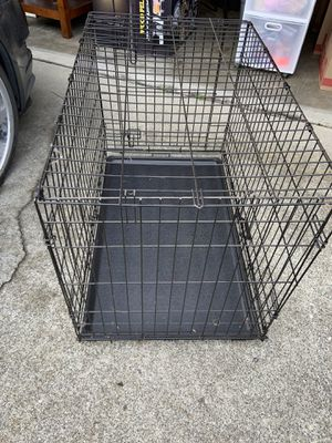 Dog crate. 65.00 OBO for Sale in Puyallup, WA