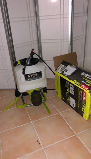 18v ryobi backpack chemical sprayer fogger for Sale in Pembroke Pines, FL