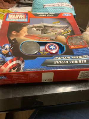 Marvel science captain America shield trainer. for Sale in Baltimore, MD