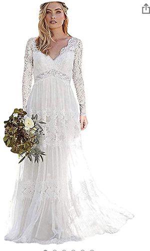 Wedding dress size 12 for Sale in Centralia, WA