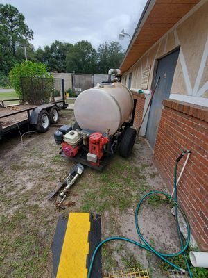 Spray pump with trailer attachment for Sale in Orlando, FL