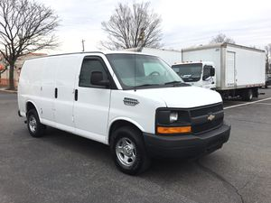 2009 Chevy express cargo van runs and drives excellent 130,000 miles New tires updated CD player Cage divider has no issues heater and air works fine for Sale in Rockville, MD