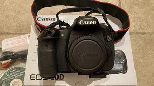 Canon 60D camera body for Sale in Placentia, CA