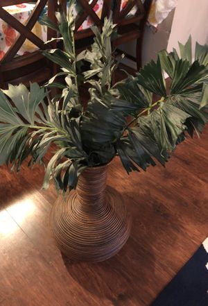 Fake plant with vase. OBO for Sale in Austin, TX