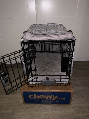 "You & Me 1-Door Folding Dog Crate, 18"" L x 12.5"" W x 14.5"" H for Sale in San Diego, CA"