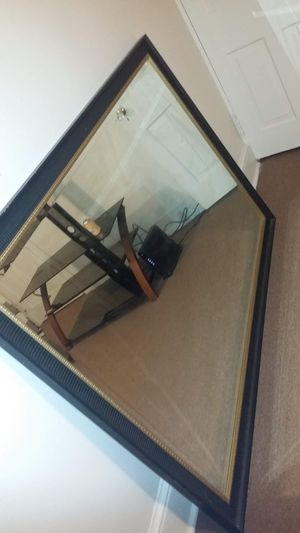 Gold and Black wall mirror for Sale in Lancaster, PA