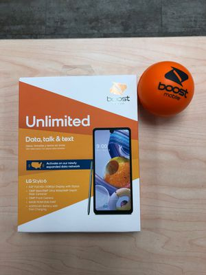 New Samsung Galaxy A21 for BoostMobile. first month included for Sale in Clearfield, UT