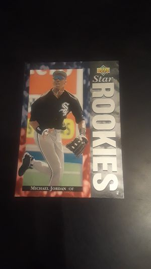 Michael Jordan's baseball card for Sale in Fresno, CA