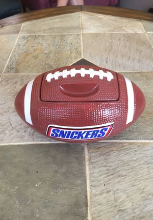 Snickers Football Candy/Cookie Jar for Sale in Lutz, FL
