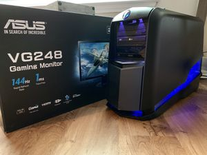 Alienware Aurora R3 i7 GTX 1070 144Hz Complete Gaming Setup - LOOK! for Sale in Waco, TX