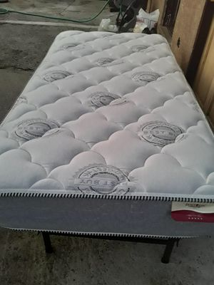 Twin bed with frame for Sale in San Jose, CA