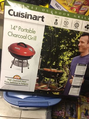 New! 14in Portable bbq pit never used. Charcoal. for Sale in Rio Vista, CA