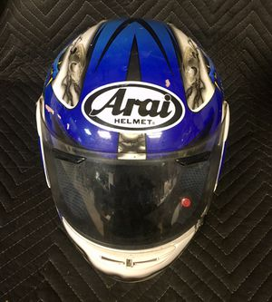 Arai Quantum 1f Blue Dragon Motorcycle Helmet for Sale in Manchester, PA