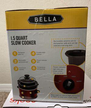 Bella Slow Cooker 1.5Quart for Sale in Nashville, TN