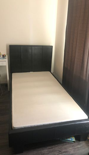 Twin frame with bunkie (mattress also for extra $20) for Sale in Cerritos, CA
