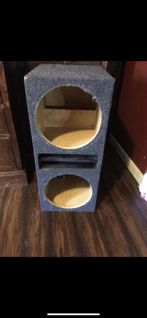 12 subwoofers box for Sale in Dallas, TX