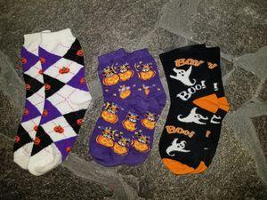 1 Women's 2 girls Halloween Socks for Sale in Lake Alfred, FL