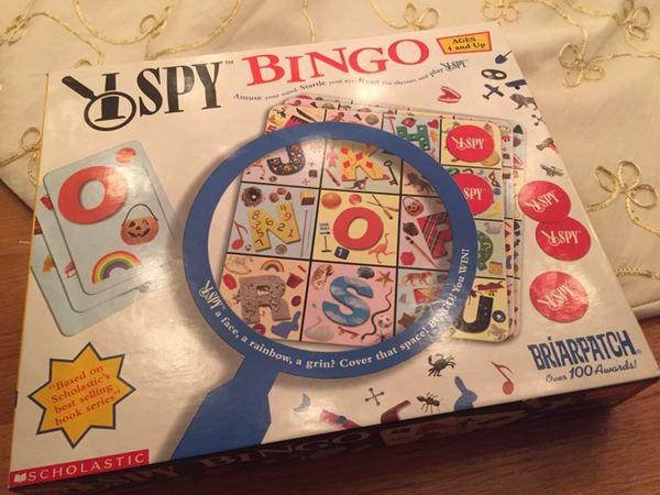 I spy bingo - kids game