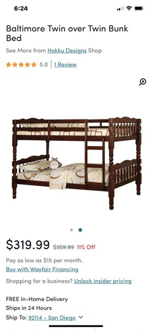 Stackable (Bunk) or Not Twin Beds for Sale in San Diego, CA
