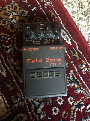 BOSS MT-2 Metal Zone guitar effects pedal for Sale in Atlanta, GA