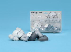 Kaws Holiday Japan 9.5 Inch Grey Vinyl Figure Limited EXCLUSIVE ORDER CONFIRMED for Sale in Monterey Park, CA