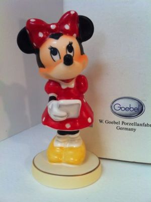 Rare Hummel Minnie Mouse signed figurine for Sale in Apopka, FL
