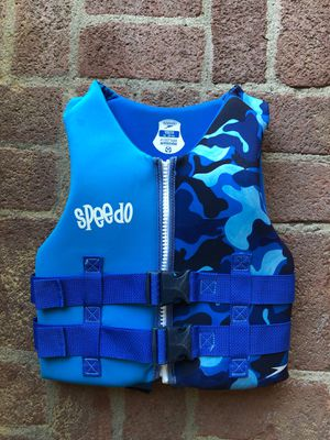 Speedo Youth PFD Life Vest Preserver for Sale in Walnut Creek, CA