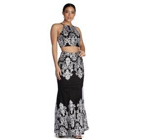 2 piece formal gown night dress for Sale in Glendale, AZ