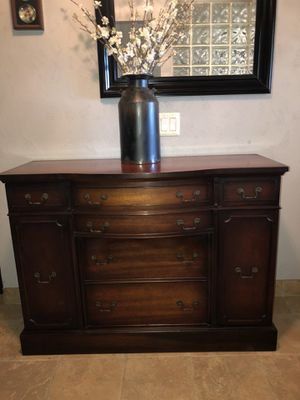 Antique Side Table Buffet for Sale in Chino, CA