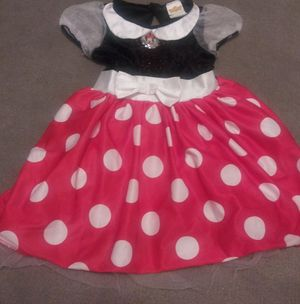 Minnie Mouse Dress Up/Halloween Costume Size 3t-4t for Sale in Phoenix, AZ