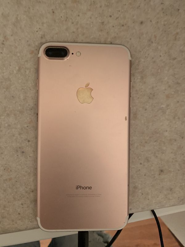 iPhone 7 Plus Rose Gold 32 GBs Unlocked