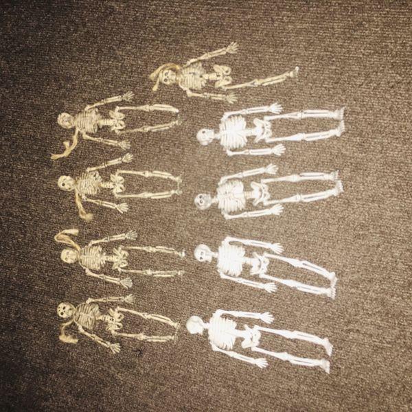 Mini skeletons